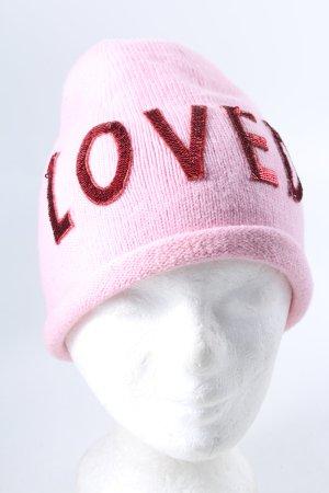 Gucci Gebreide Muts roze-rood casual uitstraling