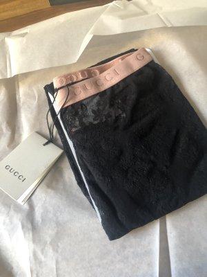 Gucci Leggings negro-rosa
