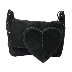 Gucci Suede Crossbody Bag