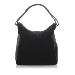 Gucci Suede Tote Bag