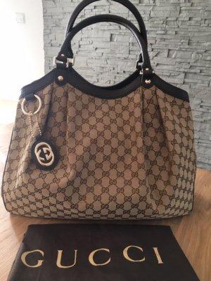 Gucci Sukey Bag aus Canvas