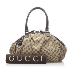 Gucci Sukey GG Canvas Handbag