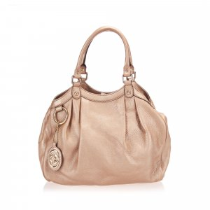 Gucci Tote light pink leather