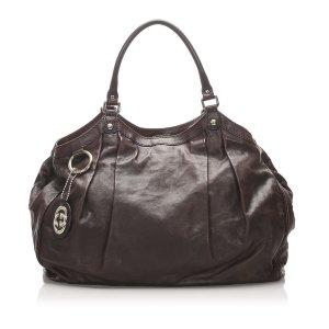 Gucci Sukey Leather Tote Bag