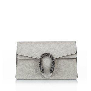 Gucci Super Mini Dionysus Leather Crossbody Bag