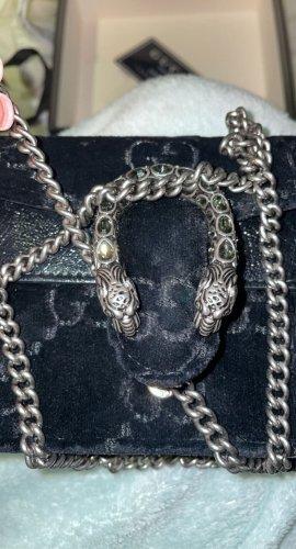 Gucci Super Mini GG Velvet Dionysus Crossbody Bag
