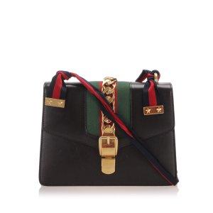 Gucci Sylvie Leather Crossbody Bag