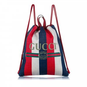 Gucci Backpack red