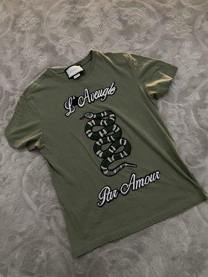 Gucci T-Shirt UNISEX mit Schlange 2018 Collection