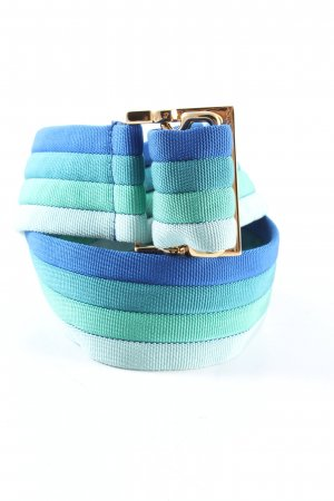 Gucci Waist Belt white-blue striped pattern casual look