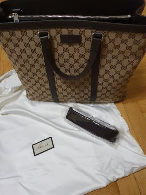 Gucci Borsa shopper beige