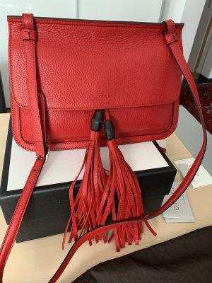 Gucci Tasche Bamboo rot neuwertig