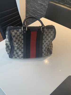 Gucci Bowling Bag red-blue