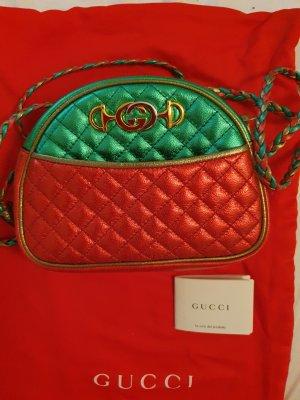 Gucci Sac à main rouge-vert