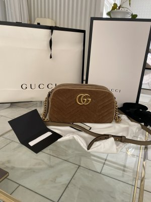 Gucci Borsa a spalla bronzo