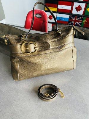 Gucci Tasche in Bronze mit Tragegurt in gutem Zustand