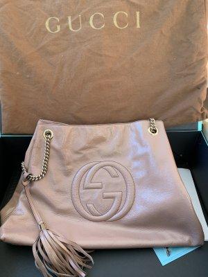 Gucci Borsa con manico crema