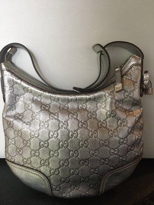 Gucci Torebka podręczna srebrny