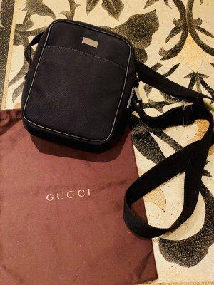 Gucci Shoulder Bag black-silver-colored