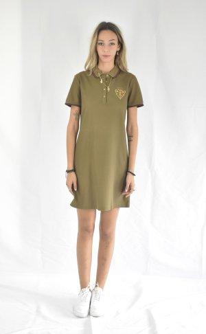 Gucci Mini Dress olive green cotton