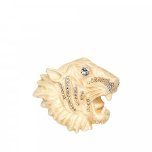 Gucci Tiger Head Brooch