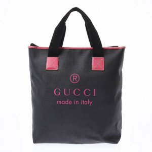 Gucci Borsa larga nero Fibra tessile