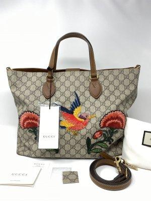 Gucci Burlap Bag light brown cotton