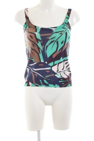 Gucci Top de tirantes estampado con diseño abstracto look casual