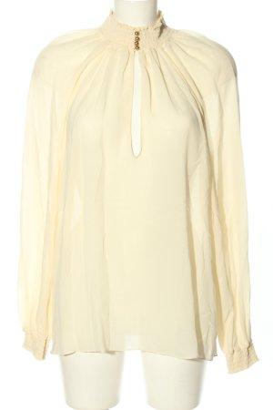 Gucci Transparenz-Bluse creme Business-Look