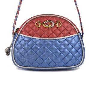 Gucci Trapuntata Leather Crossbody Bag