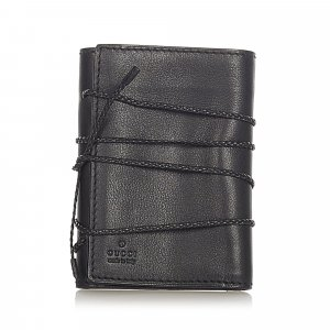 Gucci Tri-fold Leather Small Wallet