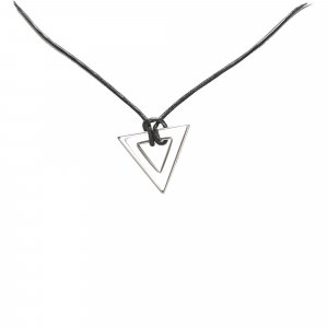 Gucci Triangle Pendant Necklace