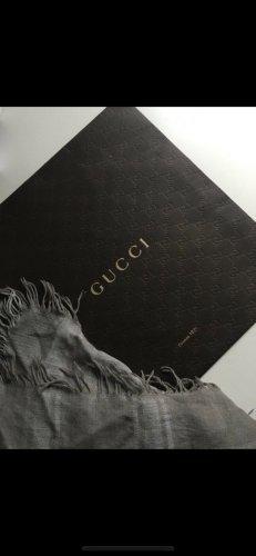 Gucci Apaszka szary-jasnoszary