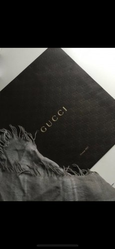 Gucci Halsdoek grijs-lichtgrijs