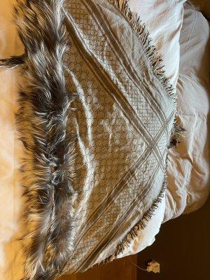 Gucci Halsdoek antraciet-lichtgrijs