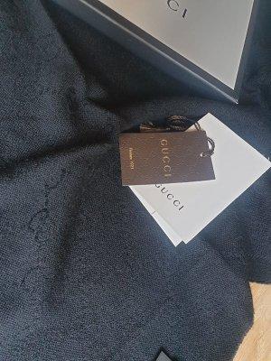 Gucci Sjaal met franjes zwart