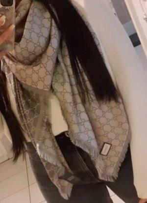 Gucci Woolen Scarf light grey