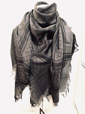 Gucci Tuch Schal Grau Neu mit Etikett