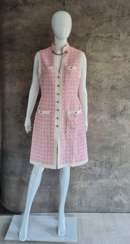 Gucci Cocktail Dress pink-oatmeal cotton