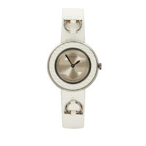 Gucci Reloj blanco acero inoxidable