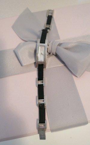 Gucci Uhr  3900L mit Schwarze Lederband