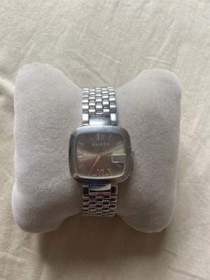 Gucci Watch With Metal Strap silver-colored-bronze-colored