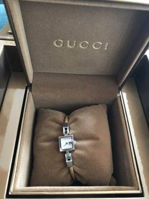 Gucci Uhr Armbanduhr Damen Lederarmband G-Mini YA102502