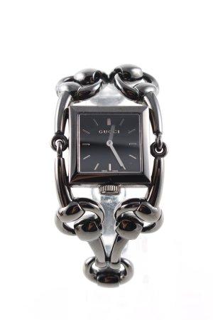 Gucci Uhr mit Metallband schwarz Casual-Look