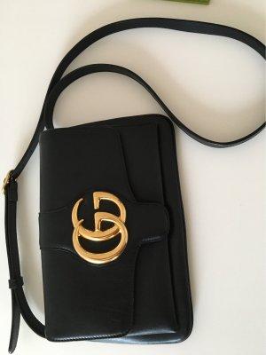 Gucci Umhängetasche Clutch schwarz wie neu aktuelle Kollektion