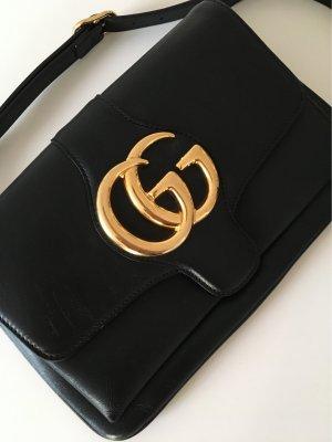 Gucci Umhängetasche Clutch schwarz wie neu aktuelle Kollektion Rechnung vorhanden