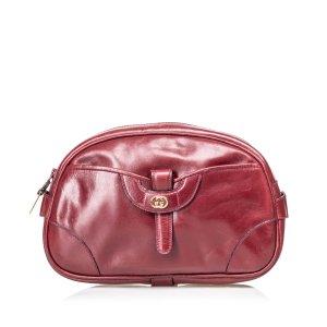 Gucci Vintage Leather Clutch Bag