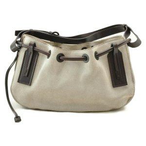 Gucci Shoulder Bag grey suede
