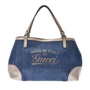 Gucci Schoudertas blauw