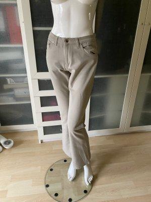 Gucci Spodnie z wysokim stanem jasnobeżowy
